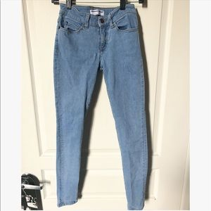 AMERICAN APPAREL MID-RISE SKINNY JEANS